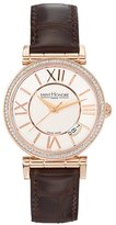Mother of Pearl Saint Honore Women's 752012 8YRR Opera Rose Gold PVD Mother-Of-Pearl Diamond Watch