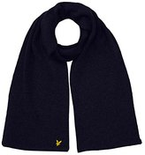 Lyle & Scott Men's Racked Rib Plain Scarf
