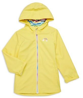 Pink Platinum Little Girl's Rainbow Jacket