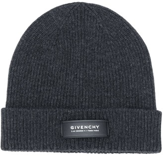 Givenchy Ribbed Cashmere-Wool Knit Beanie