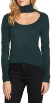 1 STATE Women's 1.state Cutout Turtleneck Top