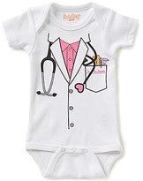 Sara Kety Baby Girls Newborn-18 Months Doctor Short-Sleeve Bodysuit