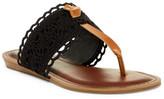 Fergalicious Stella Crochet Thong Sandal
