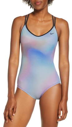 Nike Strappy Crossback One-Piece Swimsuit