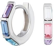 Olivia Burton Rainbow Huggie Hoop Earrings in Sterling Silver