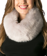 Pure Style Girlfriends Light Gray Faux Fur Magnetic Lock Snood