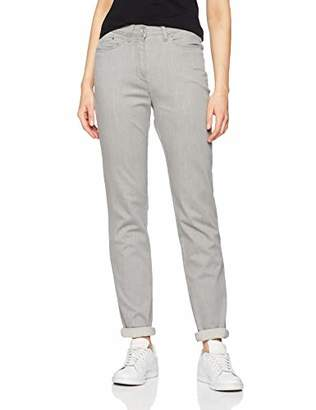 Raphaela by Brax Women's Laura Touch | Super Slim | 12-6527 Skinny Jeans, (Light Grey 4)