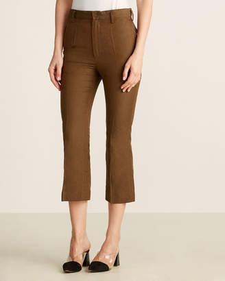 Ter Et Bantine Linen-Blend Flat-Front Dress Pants