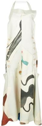 Jacquemus La Robe Tablier long dress
