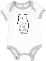 Baby Essentials White 'I Love You Beary Much' Bodysuit - Infant