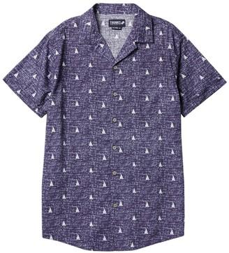 Trunks Surf And Swim Co. Sailboat Print Short Sleeve Shirt