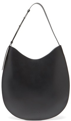Aesther Ekme Hobo Leather Shoulder Bag - Black