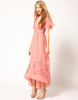 Darling Embroidered Maxi Dress