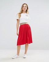 Wal G Pleated Skirt
