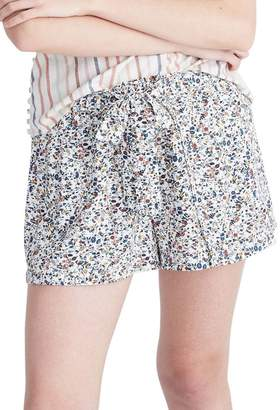 Madewell Drawstring Drapey Pull-On Shorts
