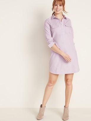 Old Navy Corduroy Shirt Dress for Women