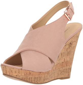 Chinese Laundry Women's Myya Micro Suede Wedge Sandal