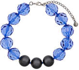 Emporio Armani faceted bead necklace