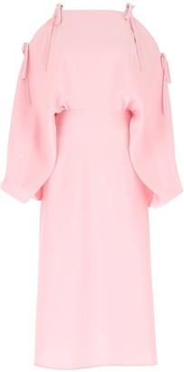Prada Cold Shoulder Dress