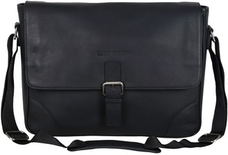 Ben Sherman Premium Karino Leather Messenger Bag