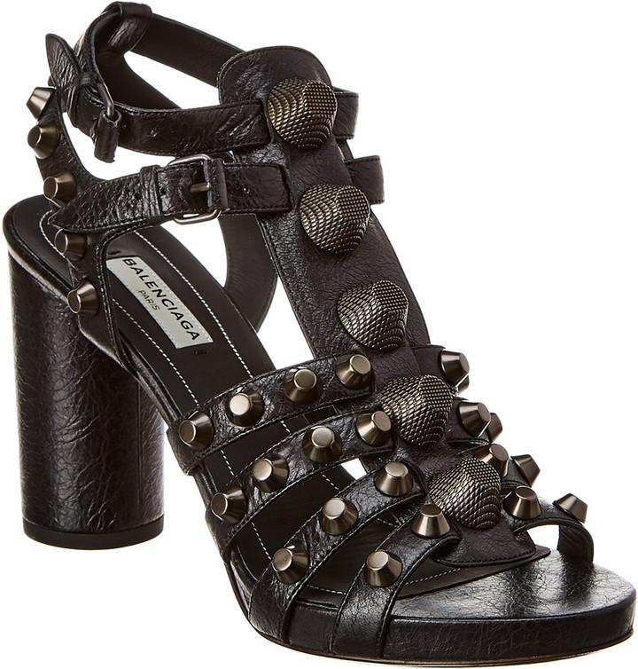 Balenciaga Stud Sandals   Shop the