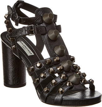 Balenciaga Giant Studded Leather Sandal