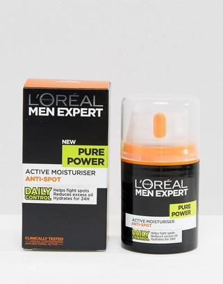 L'Oreal Men Expert Pure Power Anti-Spot Moisturiser 50ml