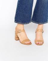 Carvela Slick Cork Heeled Sandals