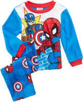 Marvel Marvel's Captain America & Spider-Man 2-Pc. Pajama Set, Toddler Boys