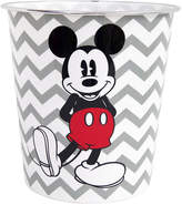 Disney Chevron Mickey Mouse Wastebasket