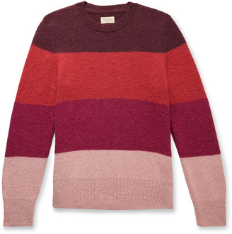 Nudie Jeans Hampus Striped Knitted Sweater