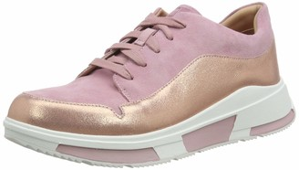 FitFlop Women's Freya Lace Up Low Top Sneaker Slip On Trainers