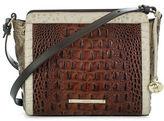 Brahmin Carrie Embossed Leather Crossbody Bag