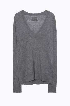 Zadig & Voltaire Happy Cp Cashmere Sweater