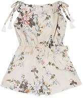 Zimmermann FLORAL COTTON ROMPER