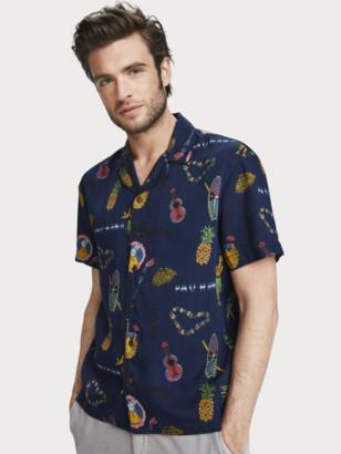 Scotch & Soda Printed Shirt Hawaii fit | Men