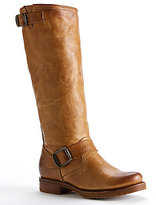 Frye Veronica Leather Pull-On Slouch Boots