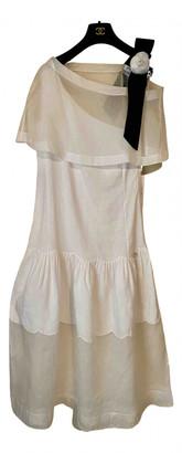 Chanel White Linen Dresses
