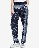 DKNY Printed Drawstring Pants, Created for Macy's