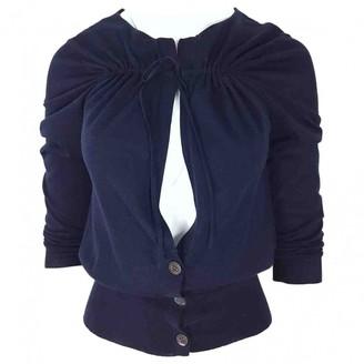 Dries Van Noten \N Navy Cotton Knitwear