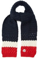 Moncler Mid-weight wool-blend scarf