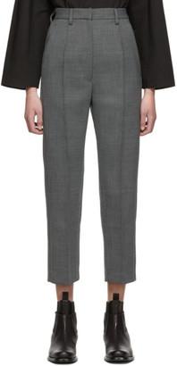 MM6 MAISON MARGIELA Grey Wool Trousers