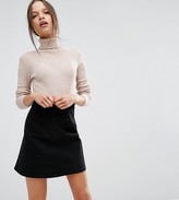 Asos Sweater With High Neck in Rib