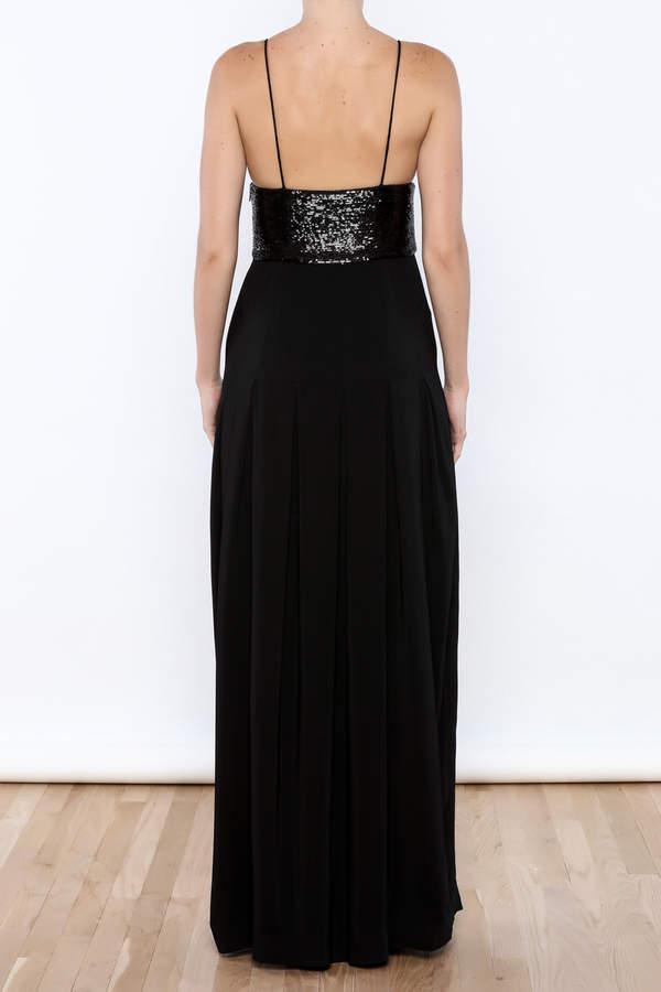 Rachel Zoe Sequin Top Gown