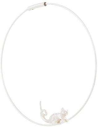 E.m. Bird Loop Earring