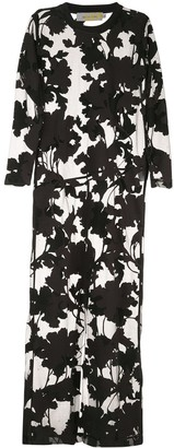 Marques Almeida Floral-Devore Dress