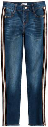 Epic Threads Toddler Girls Side-Stripe Jeans