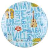 Margaritaville Icon Salad Plate in Blue