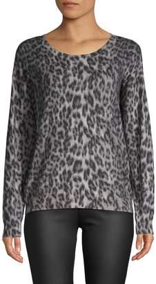 Joie Eloisa Knit Leopard Pullover