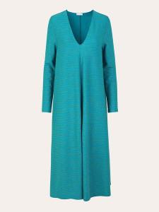 Stine Goya Lauren Midi Dress Turquoise - XS